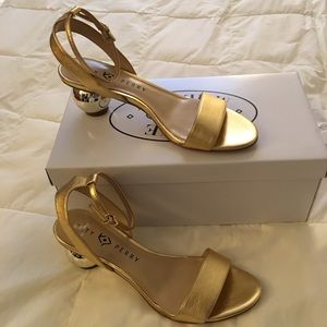 Gold Katy Perry Sandals